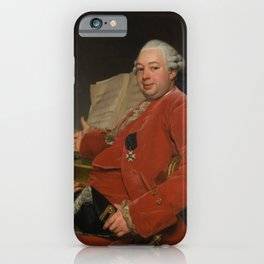 John Jennings Esq., his Brother and Sister-in-Law by Alexander Roslin iPhone Case