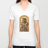thorin V-neck T-shirts featuring Thorin by MelColley