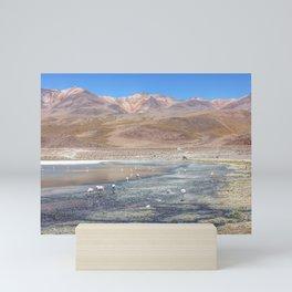 Salar de Uyuni Bolivia Mini Art Print