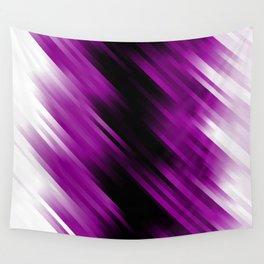 stripes wave pattern 7v1 dei Wall Tapestry