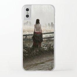 true nature Clear iPhone Case