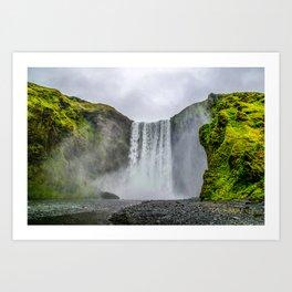 Intrepid Iceland Art Print