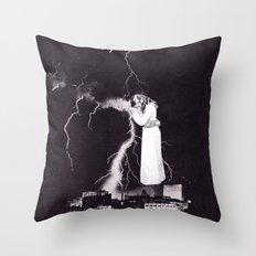 Traveling Light Throw Pillow