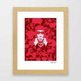 kusuma Framed Art Print