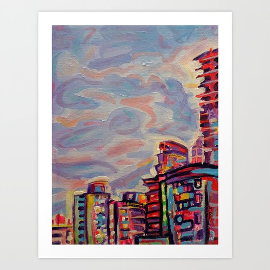 DeConstruction, Vancouver Art Print