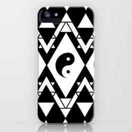 Prismatic Yin & Yang iPhone Case