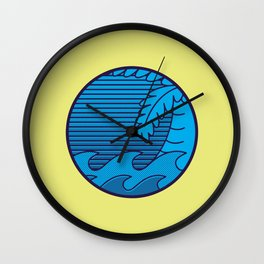 El caribe Wall Clock