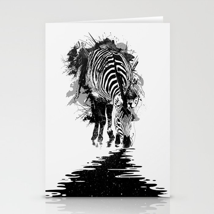 Stripe Charging Stationery Cards