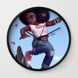 Elevate Wall Clock
