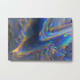 Glitch Background 08 Metal Print