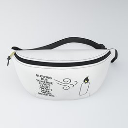 the light Fanny Pack