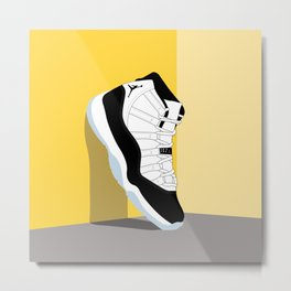 Air Jordan XI Illustration Metal Print