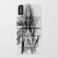 engineer iPhone & iPod Cases featuring Architect & Engineer Working Together by Rothko