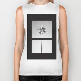 Palm tree, it's summer! Biker Tank