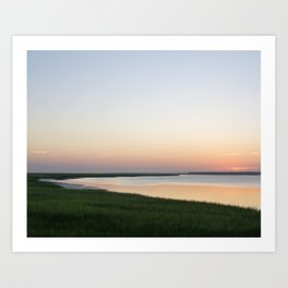 Georgia Sunrise Art Print