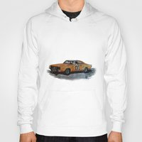 general Hoodies featuring General Lee by AshyGough
