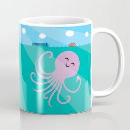 Octopus Selfie Coffee Mug