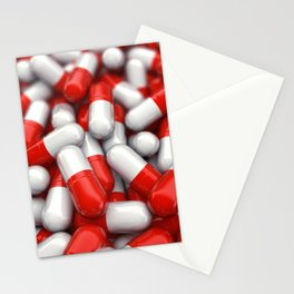 Pharmaceutical capsules Stationery Cards