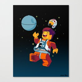 The Rebellion Is Awesome Canvas Print