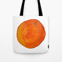 Orange - alcohol ink Tote Bag