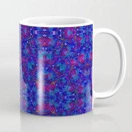 """""""NeonBlue Peace Rose"""" by surrealpete Coffee Mug"""