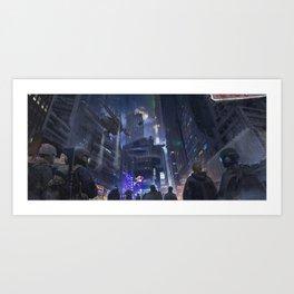Nuit Art Print