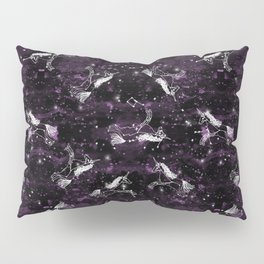 Unicorn constellation magical cute stars unicorns pattern by andrea lauren Pillow Sham