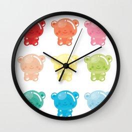 Jelly Bears Wall Clock