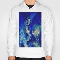 angels Hoodies featuring angels by  Agostino Lo Coco