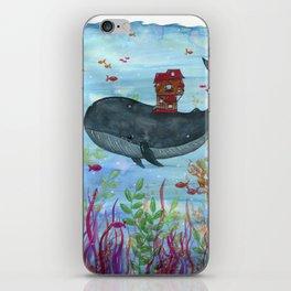 Underwater Movers iPhone Skin