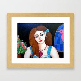 Eve closer Framed Art Print
