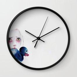 autobiografia romantica di un cane Wall Clock