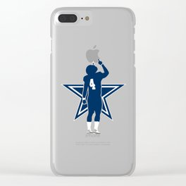 Dak Prescott Clear iPhone Case