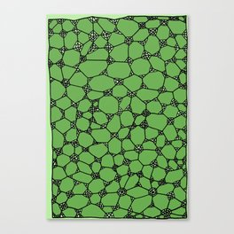 Yzor pattern 006-4 kitai green Canvas Print