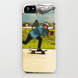 Movie Moves - Skateboarder iPhone Case