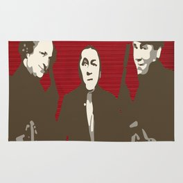 The Boondock Stooges Rug