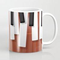 jazz Mugs featuring Jazz by Rceeh