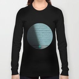 Blue and shady cube Long Sleeve T-shirt