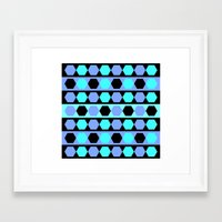 polygon Framed Art Prints featuring Polygon by Heaven7