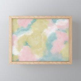 Cotton Flower Framed Mini Art Print