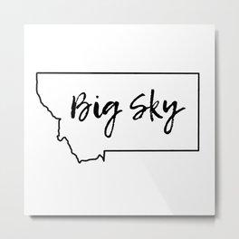 Big Sky, Montana Metal Print
