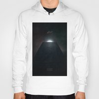 2001 a space odyssey Hoodies featuring 2001 A Space Odyssey alternative movie poster by LionDsgn