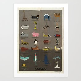 ARCHIZOO Art Print