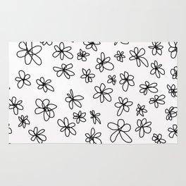 Simple Little Daisies Rug