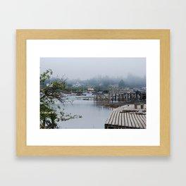 Corea, Maine Framed Art Print