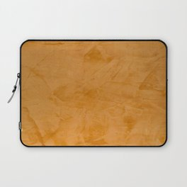 Tuscan Orange Stucco Laptop Sleeve