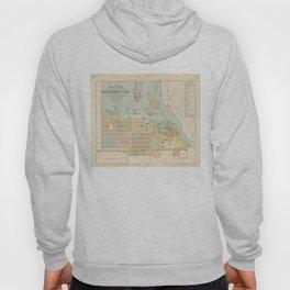 Vintage Map of Oulu Finland (1886) Hoody