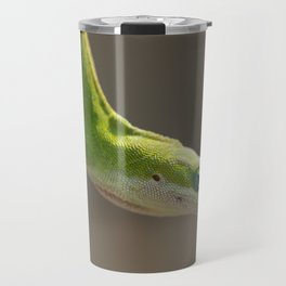 Stretching Green Anole Travel Mug