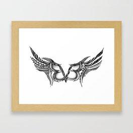 bvb Framed Art Print