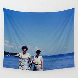 Fishing Ladies Wall Tapestry
